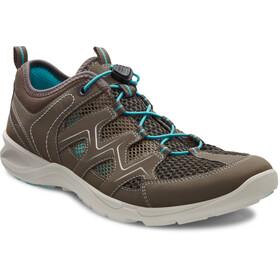 ECCO Terracruise LT Shoes Women warm grey/dark clay/turquoise